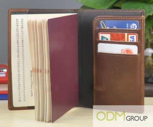 What kind of practical promotional product could we offer our clients? - Passport Holders