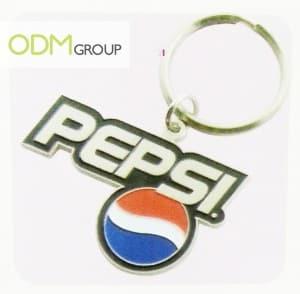 Pepsi keychain - promo giveaway