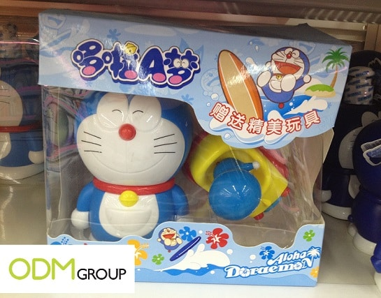 Relive your childhood days - On pack promo by Aloha Doraemon