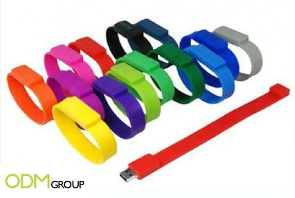 Brighten Up Mundane Items by Branding Silicon Wristband USB