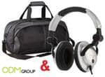 TIME magazine offers gift with subscription – Overnight Bag and Headphones