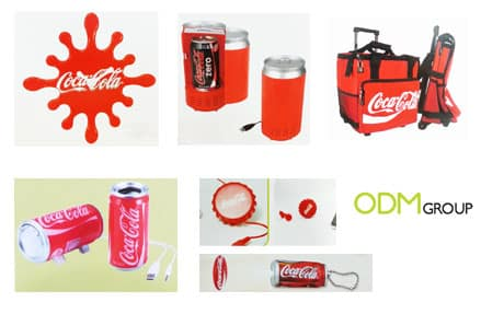 Coca-cola promotional gifts