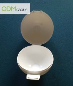 food marketing - apple case open promo gift by ODM