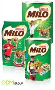 Milo a popular hot beverage