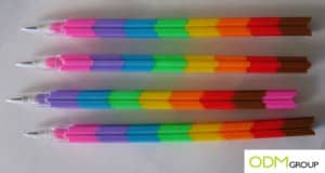 Fabulous giveaway for kids: Plastic Brick Pencils