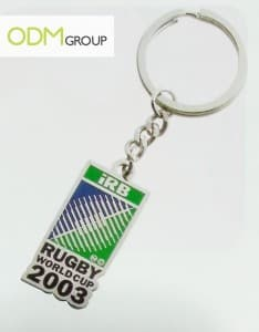 Rugby keychain - promo giveaway