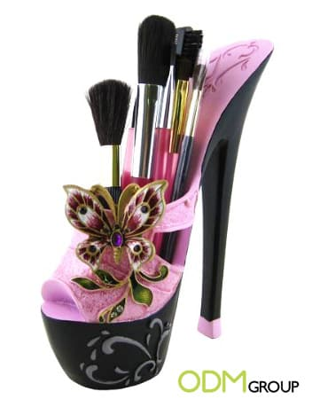 High Heel Cosmetic Holder