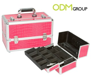 Aluminium Make Up Organiser Case