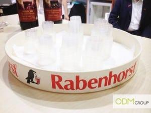 Rabenhorst's branded tray