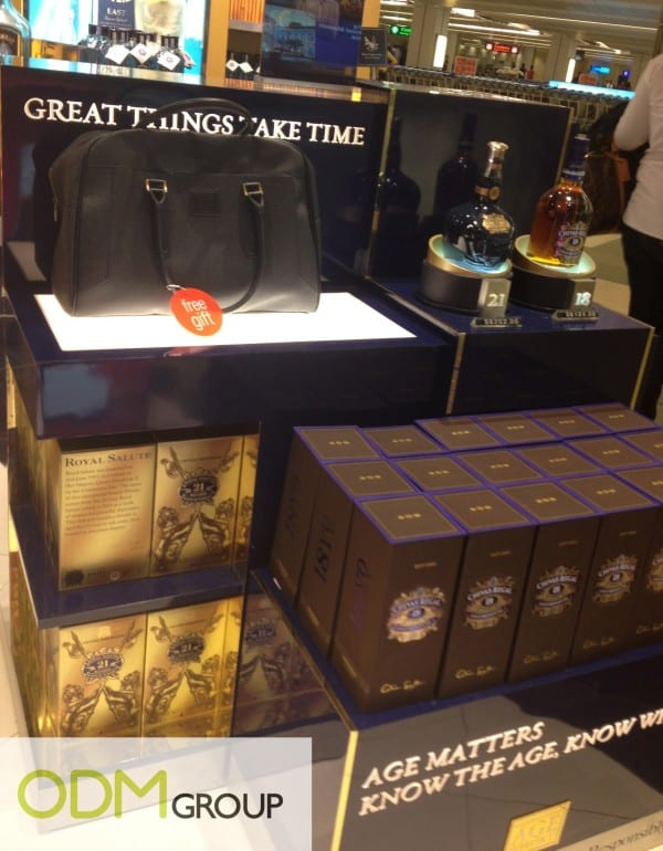 Astonishing Leather Baggage as Macallan's Marketing Gift
