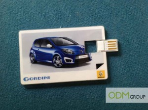 Renault's USB key marketing giveaway!