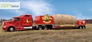 Idaho potato commission big potato truck