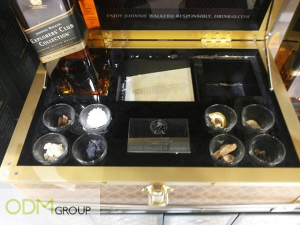 Johnnie Walker's Alcohol Gift Set Items