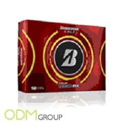Golf Monthly Marketing Product- Bridgestone golf balls