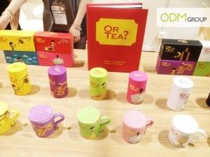 Or Tea's Point of Sales Packaging!