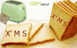 Customer Gift For Kitchen: Logo Toaster