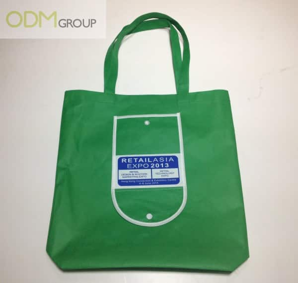 Retail Asia Expo Foldable Non-Woven Giveaway Bag