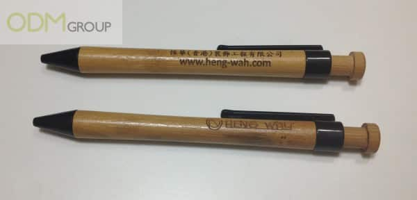 Environmentally Friendly Giveaways - Wooden Pens