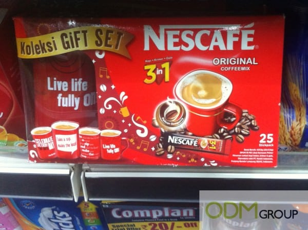 Nescafé Offers Custom Ceramic Mug On Pack Promo!