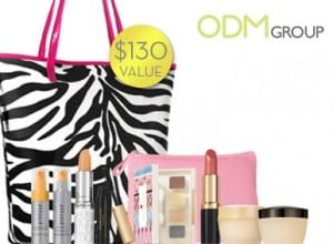 Elizabeth Arden's Gift with Purchase - Zebra tote bag