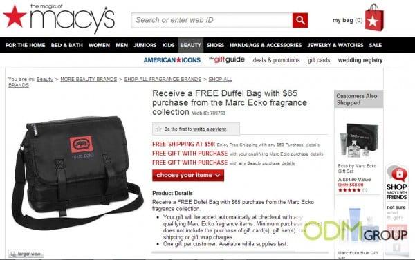 Enhance publicity with this custom duffel bag!