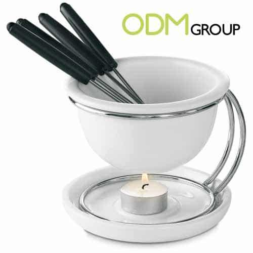 Customer Gift for Kitchen: Fondue Set