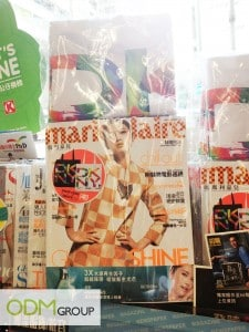 Marie Claire Product Marketing Tote Bag