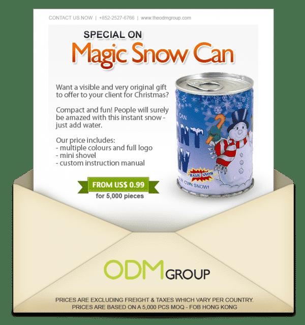 Christmas Goodies - Magic Snow Can