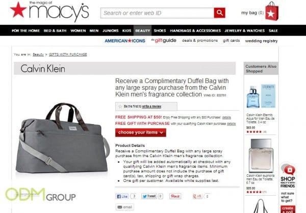 Simple & Classy Custom Duffel Bag x Calvin Klein