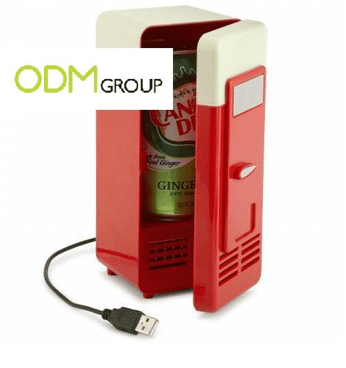 Customer Gift For Work: USB Powered Mini Fridge
