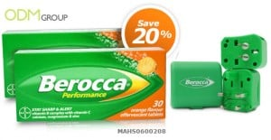 Berocca's in-store promotion - travel adaptor