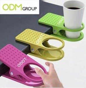 Customer Gift For Work: Desktop Clip Cup Holder