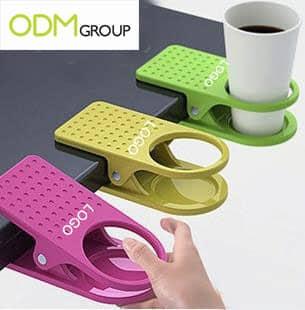 Customer Gift For Work: Desktop Clip Cup Holder