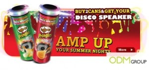Pringles show companies how to market a product - Disco Speaker