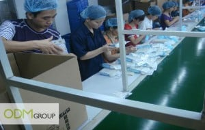 China Factory Visit - Assembling department