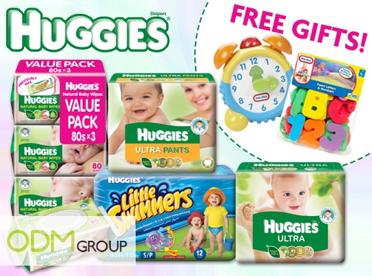 Bond with your Newborn Today with Huggies's Marketing Gift!