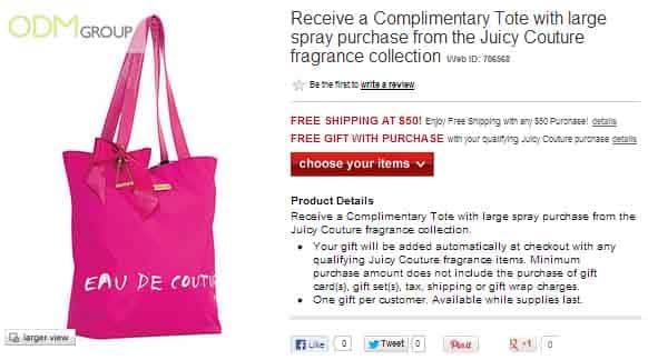 Custom Tote by Juicy Couture