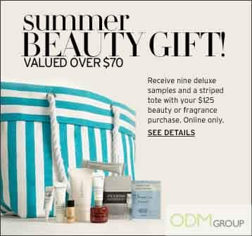 Summer Beauty Promo Gifts by Nordstrom!