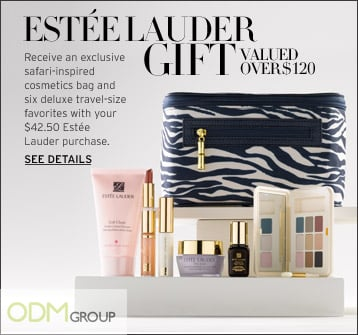 Estée Lauder's Exquisite Marketing Gift Set