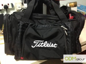 A free Custom Duffel Bag by Titleist!