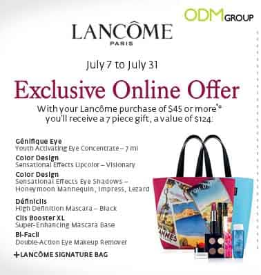 Lancôme Offers Exclusive Gift Set with Signature Tote