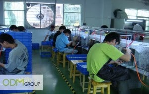 China Factory Visit - Painting department