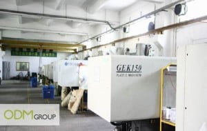 China Factory Visit - Plastic injection machine
