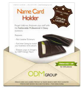 Special Offer for High-End Name Card Holders!
