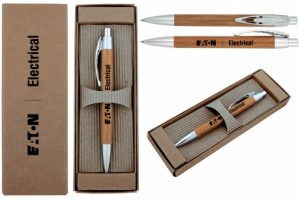 Eco-friendly Bamboo Executive Boxed Pen Set