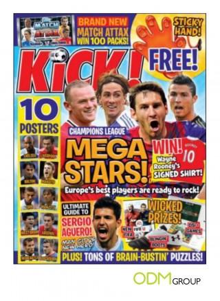 Kick Magazine With Covermount Gift