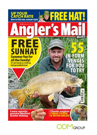 Covermount Gift with Angler's Mail
