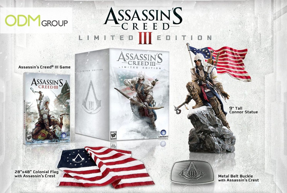Assassin's Creed III Limited Edition Game Set