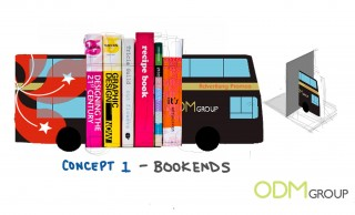 Bus Advertising - Bookends Custom Promos