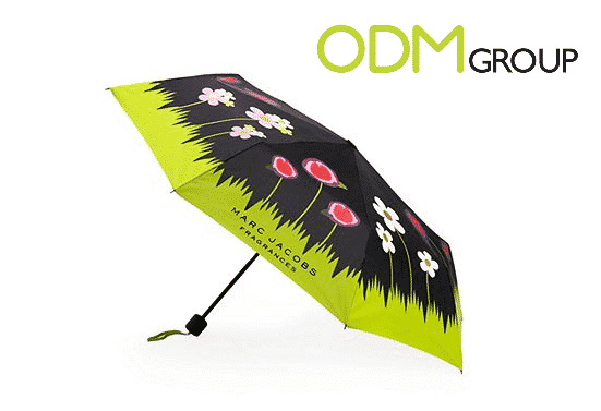 Come Rain or Shine with Marc Jacob's Promotional Merchandise
